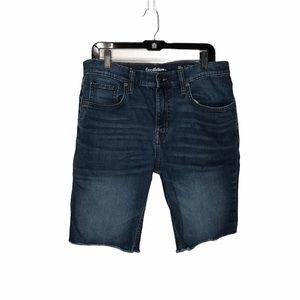 4/$25 Goodfellow & Co Blue Denim Cut Off Shorts 36